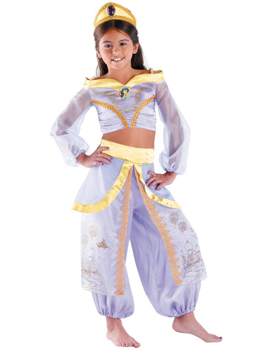 Disfraz de Jasmine Prestige para niña