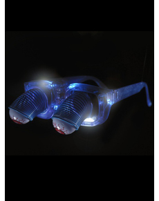 Gafas de ojos saltones con luz