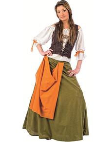 Disfraz de tabernera medieval Agnes