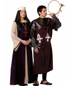 Disfraz de señora medieval