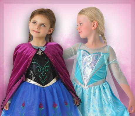 Elsa y Anna Frozen