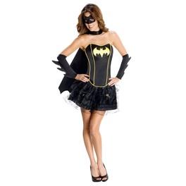 Disfraz de Batgirl Corsé Secret Wishes
