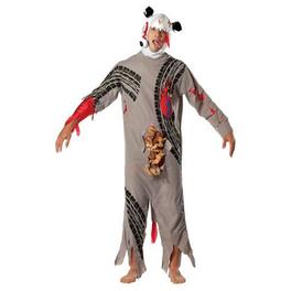 Disfraz de animal atropellado