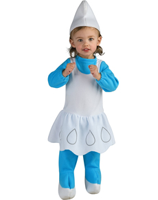 Disfraz de Pitufina para bebé