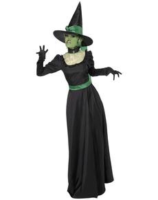 Disfraz de bruja encantada para mujer