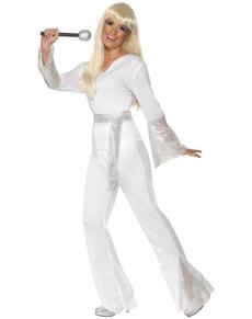 Disfraz de discotequera de los 70