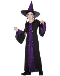 Disfraz de embrujada para niña