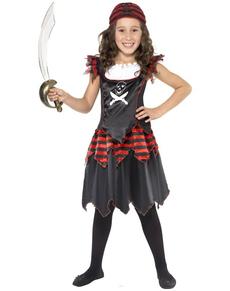 Disfraz de piratilla para niña