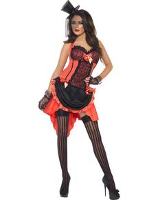 Disfraz de madame de burdel sexy