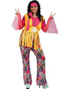 Disfraz de chica hippie