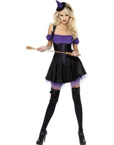 Disfraz de bruja malvada Fever para mujer