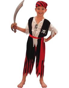 Disfraz de gran pirata niño