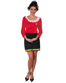 Disfraz de mujer marinera Olivia