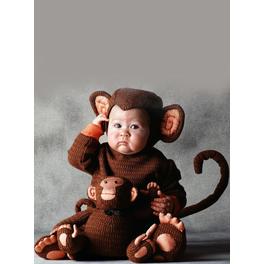 Disfraz de mono Tom Arma para bebé