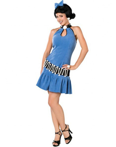 Disfraz de Betty Mármol Deluxe talla grande