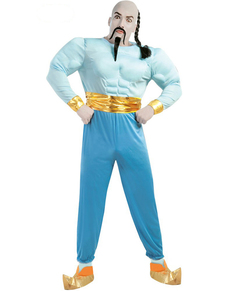 Disfraz de genio azul