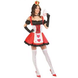 Disfraz de reina de las cartas