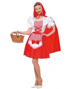 Disfraz de Caperucita Roja del bosque