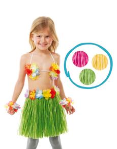 Kit de hawaiana infantil