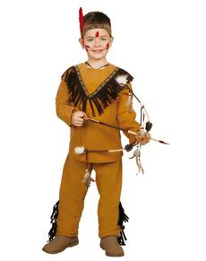 Disfraz de indio salvaje para niño