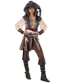 Disfraz de pirata corsaria deluxe