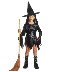 Disfraz de bruja embaucadora para niña