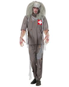 Disfraz de doctor zombie