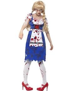 Disfraz de bávara zombie para mujer