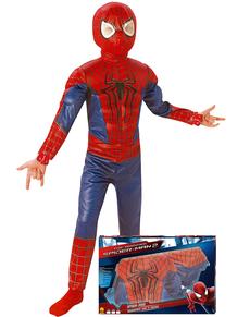 Disfraz The Amazing Spiderman 2 para niño en caja