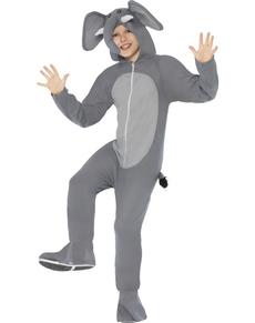 Disfraz de elefante para niño