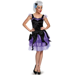 Disfraz de Úrsula La Sirenita deluxe para mujer