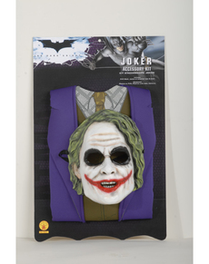 Kit disfraz del Joker para niño