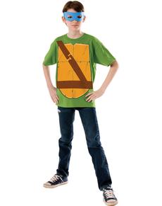 Kit disfraz de Leonardo Las Tortugas Ninja para niño
