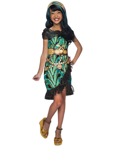 Disfraz de Cleo de Nile Monster High classic para niña
