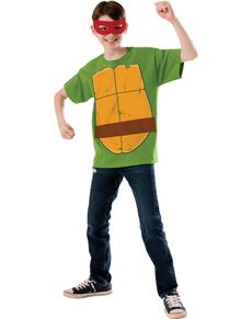Kit disfraz de Raphael Las Tortugas Ninja para niño