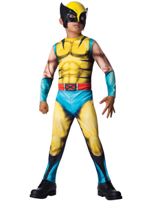 Disfraz de Lobezno Marvel para niño