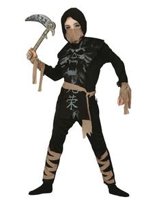Disfraz de ninja fantasma infantil