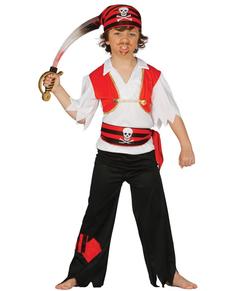 Disfraz de pirata salvaje para niño