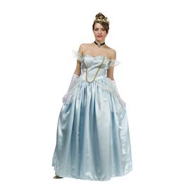 Disfraz de princesa azul para mujer