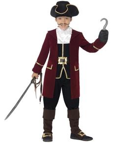 Disfraz de pirata con garfio para niño
