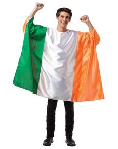 Disfraz de bandera de Irlanda para hombre