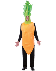 Disfraz de zanahoria para hombre