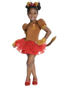 Disfraz de León adorable El Mago de Oz para niña
