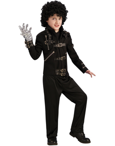 Chaqueta Bad Michael Jackson deluxe para niño