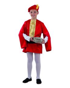 Disfraz de paje Real de Gaspar para niño