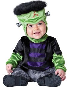 Disfraz de monstruito Frankenstein para bebé