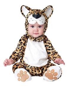 Disfraz de leopardo chiquitín para bebé