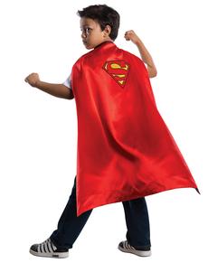 Capa reversible Batman Superman para niño