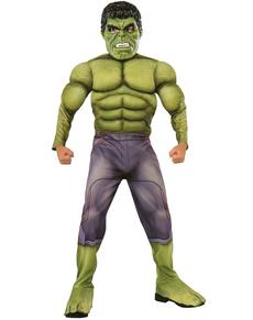 Disfraz de Hulk Los Vengadores 2 La Era de Ultrón deluxe para niño