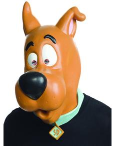 Máscara de Scooby Doo deluxe para adulto
